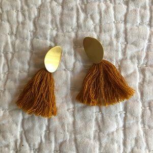 Madewell fringe earring